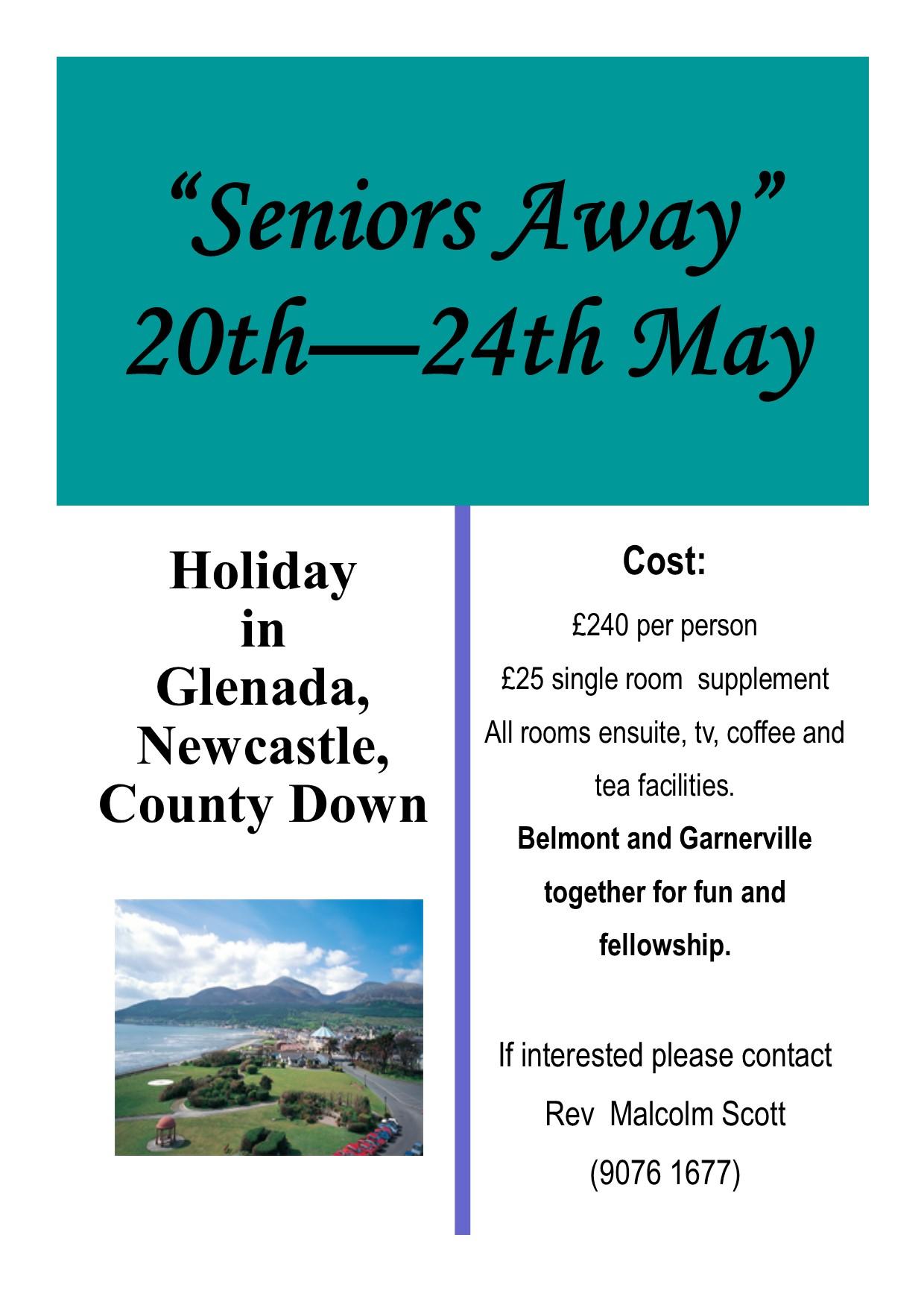Seniors Away2019