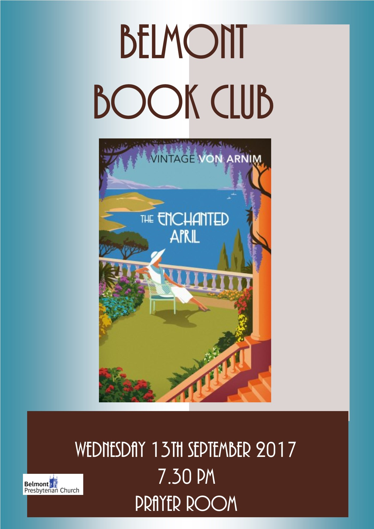 Belmont book Club Sept 2017